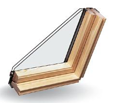 Dřevěné střešní okno Toso