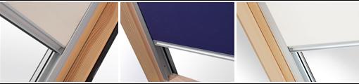 Zcelazatemňujicí rolety do střešních oken